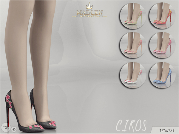 The Sims Resource: Madlen Ciros Shoes by MJ95