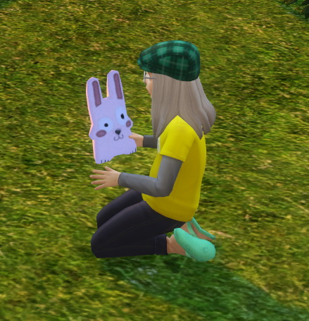 Simsworkshop: Plush Freezer Bunny