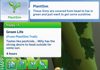 Mod The Sims: PlantSim Trait by jackboog21