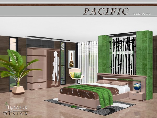 The Sims Resource Pacific Heights Bedroom By