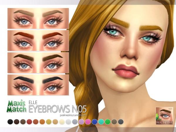 Maxis Match Eyebrows Sims 4