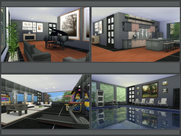 The Sims Resource: LAURA house by Danuta720