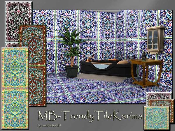 The Sims Resource: MB   Trendy Tile Karima SET by matomibotaki