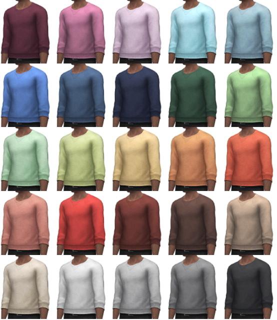 Simsontherope: Basic Sweater