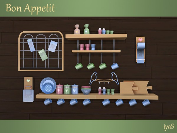 The Sims Resource: Bon Appetit clutter by Soloriya