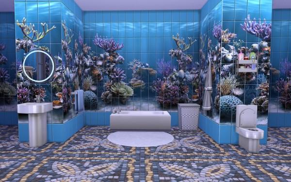 Ihelen Sims: Tile Underwater
