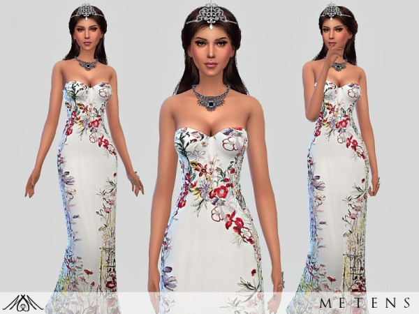 The Sims Resource: Venus dress by Metens