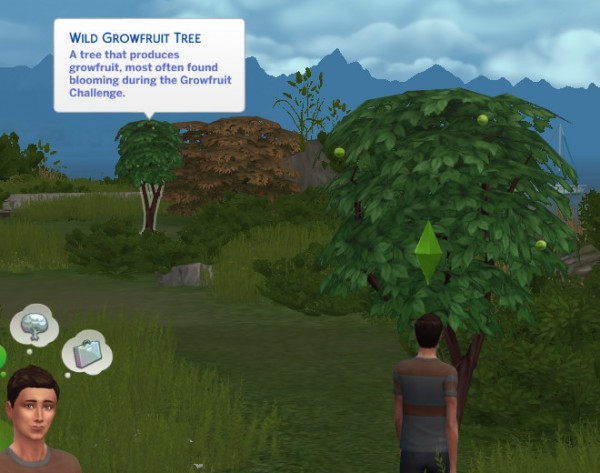 Mod The Sims: Growfruit Tree Glow Removed  by Shimrod101