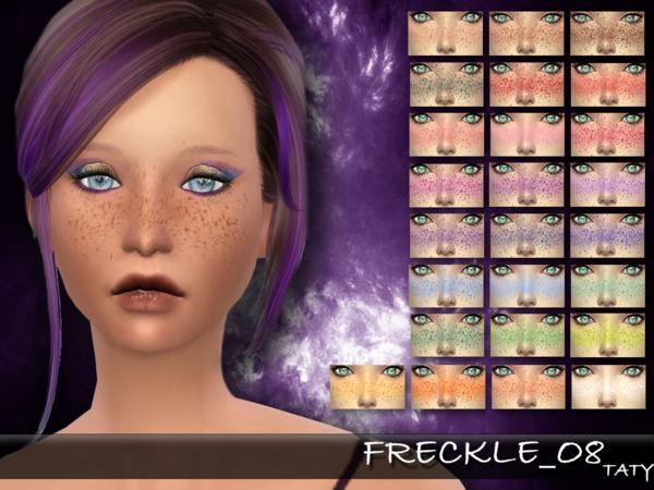 The Sims Resource: Freckle 08 by Taty