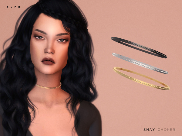 The Sims Resource: Shay Choker by SLYD
