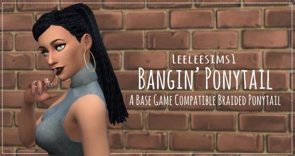 Simsworkshop: Bangin' Ponytail