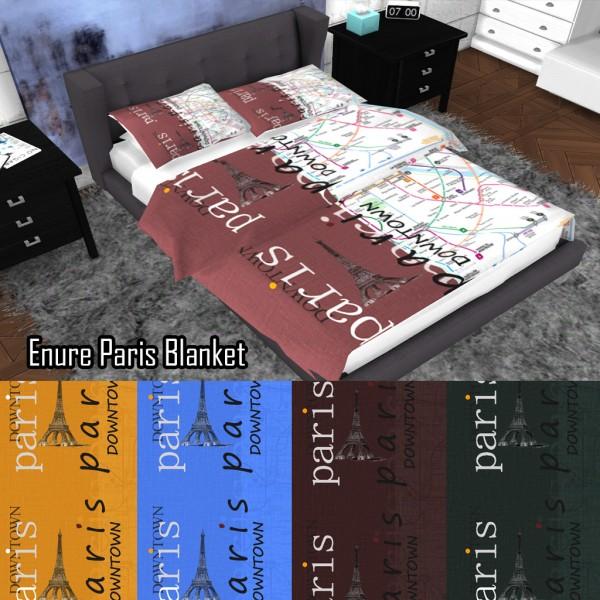 Enure Sims: Enure Paris Blanket
