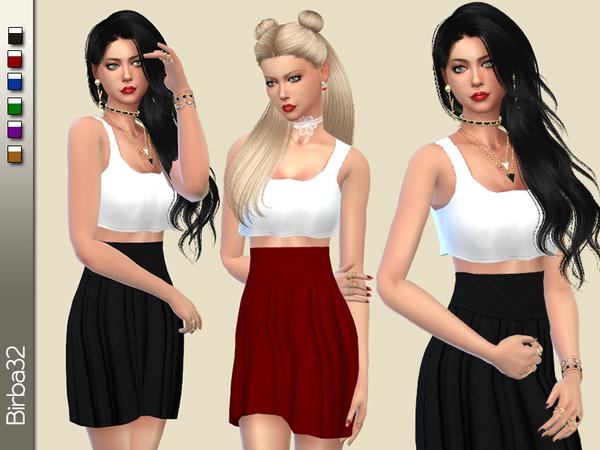 The Sims Resource: Valeria dress by Birba32