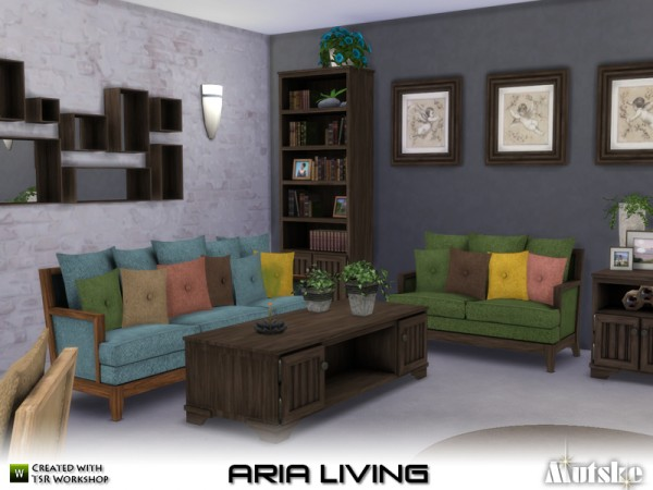 The Sims Resource: Aria Living by mutske