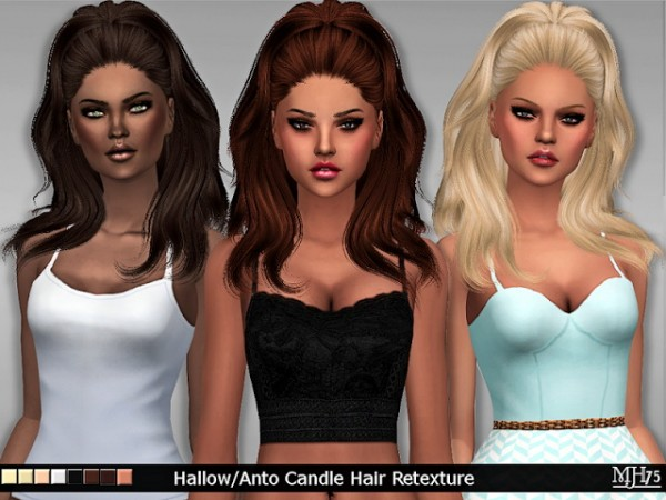 Sims Addictions: Hallow /Anto Candle Hair Retexture