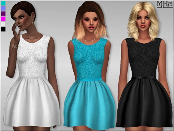 Sims Addictions: Lace dress