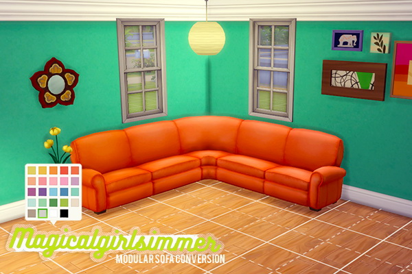 Simsworkshop modular sofa by magicalgirlsimmer sims 4 for Sofa bed sims 4