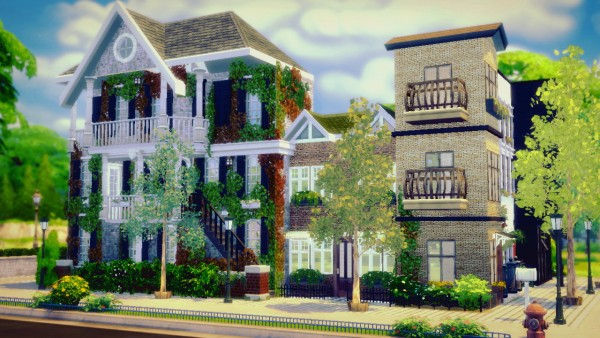 Sims4Luxury: How to build a townhouse Part 2