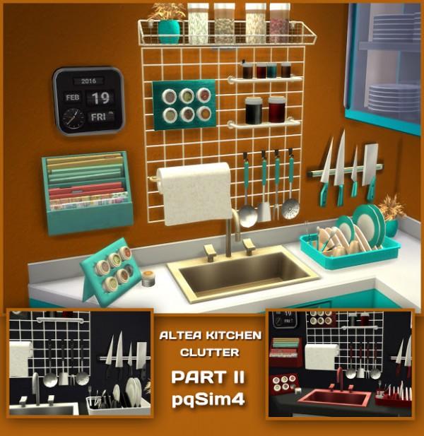 Sims Stuff 4 Kitchen: PQSims4: Altea Kitchen Clutter Part 2 • Sims 4 Downloads