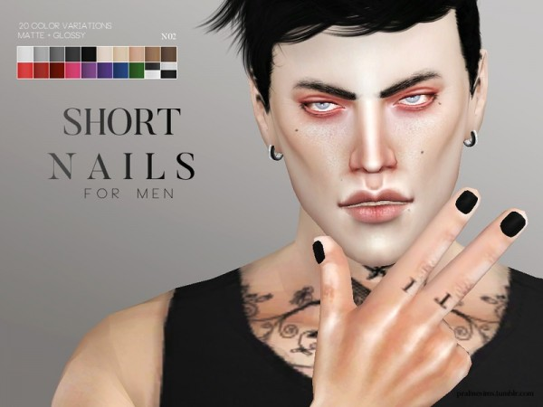 The Sims Resource Nail Pack By Pralinesims Sims 4 Downloads