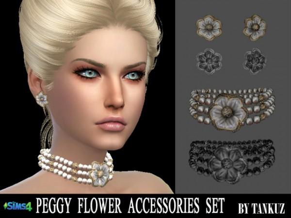 Tankuz: Peggy Flower Accessories
