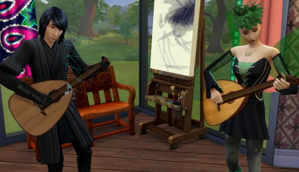 Mod The Sims: Lute by Esmeralda