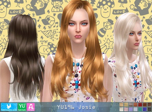 NewSea: YU196 Josie donation hairstyle