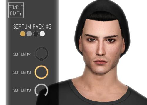 Simpliciaty: Septum pack 3