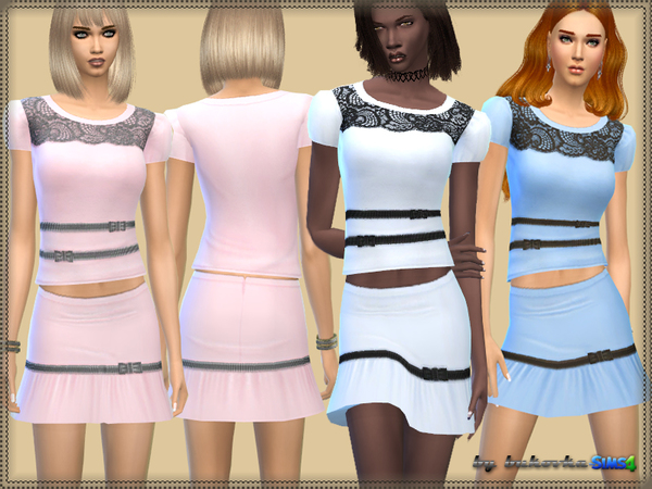 The Sims Resource: Set & Little bow by Bukovka