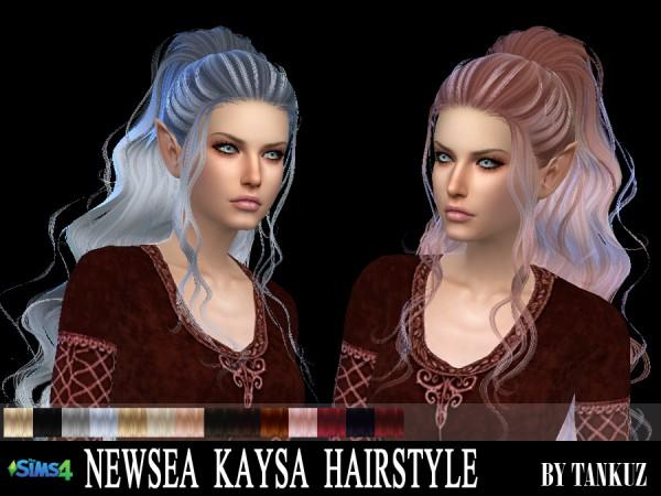 Tankuz: Newsea`s Kaysa Hairstyle