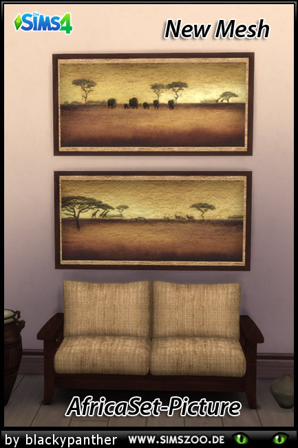 Blackys Sims 4 Zoo: Africa Set Picture by blackypanther