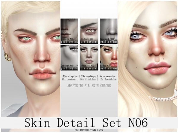 The Sims Resource: Skin Detail Kit N06