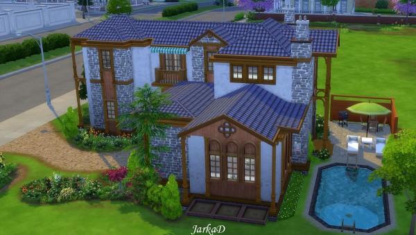 JarkaD Sims 4: Marisol House