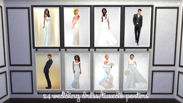 Brittpinkiesims Bridal Shop Stuff Sims 4 Downloads