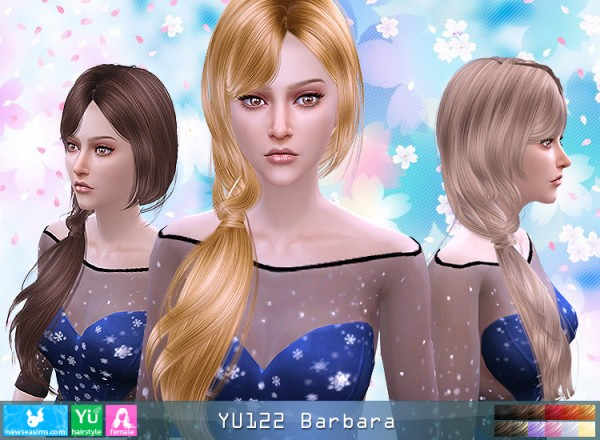 NewSea: YU 122 Barbara donation hairstyle