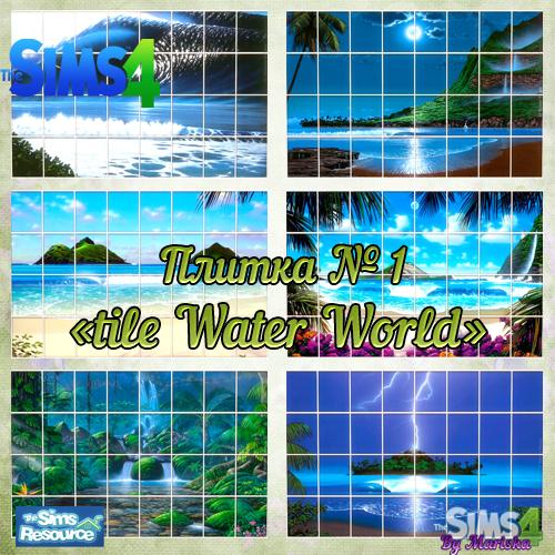 Ladesire Creative Corner: Water World by Mariska