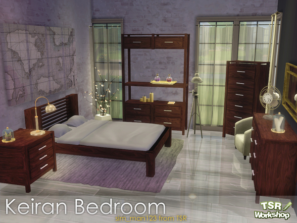 The Sims Resource: Keiran Bedroom by sim man123