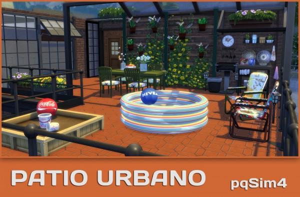 PQSims4: Urban Patio