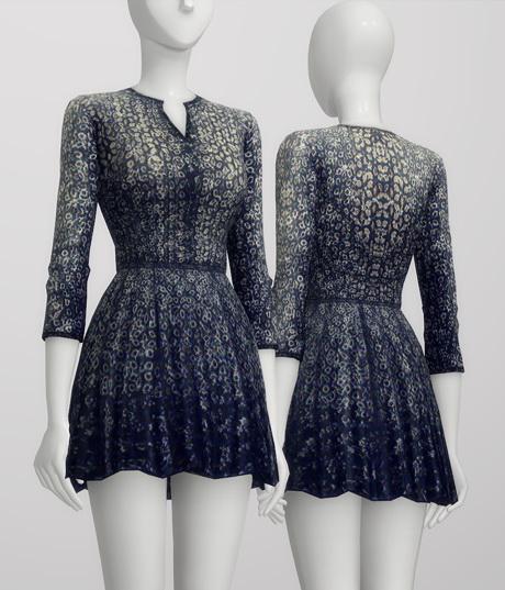 Rusty Nail: Pattern dress by Maje