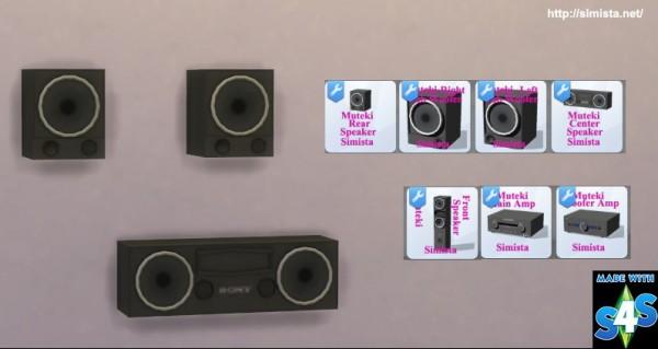 Simista: Muteki 7.2 Home Theater System