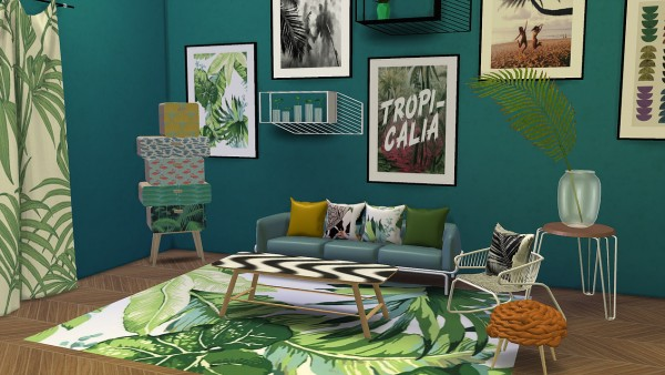 Decor archives page 159 of 509 sims 4 downloads for Decoration urban jungle