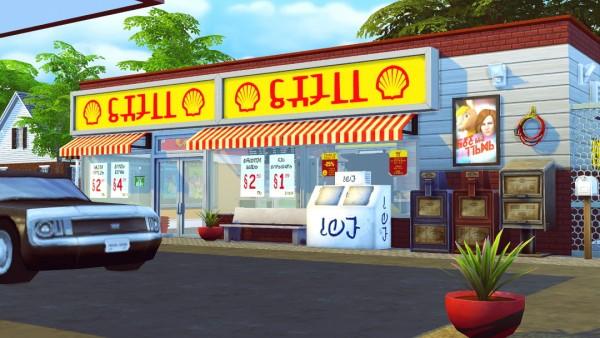Jenba Sims: Copeland Gas Station & Ice Cream Stand lot