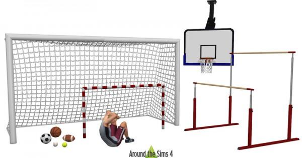 Around The Sims 4: Sport & Gym