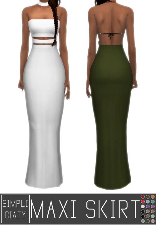Simpliciaty: Maxi skirt