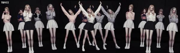 Flower Chamber: Kpop Girls Groups Dance Postures Set V.1
