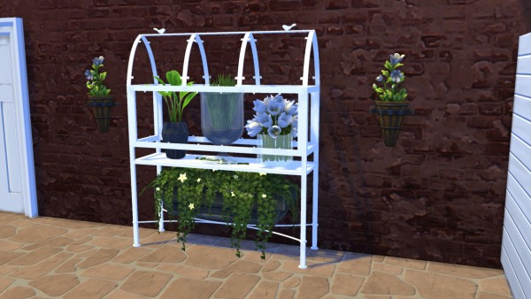 Meinkatz Creations: Old Greenhouse shelfs