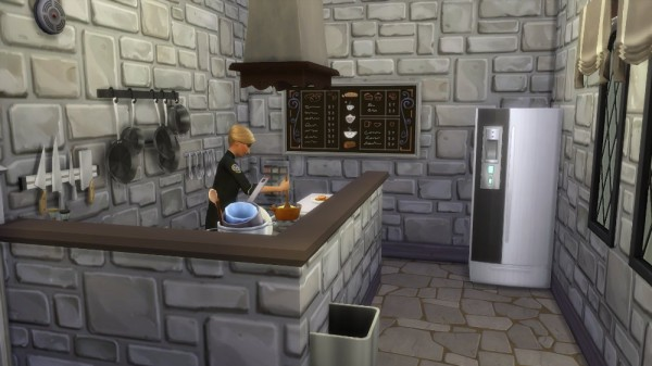 Ihelen Sims: Bar with ghosts by fatalist