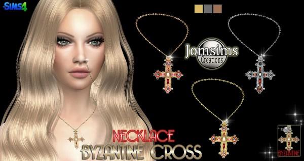 Jom Sims Creations: Byzantine Cross