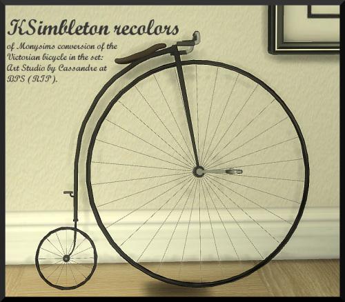 Ksimbleton: Victorian bicycle