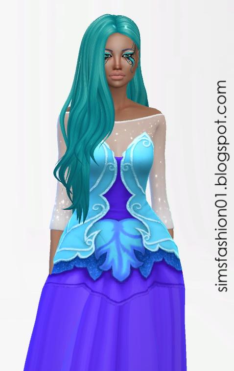Sims Fashion 01: Fairy Dress